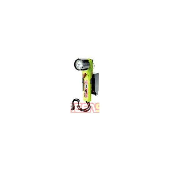 Latarka LED Peli 3660 Little Ed ATEX Strefa1 akumulatorowa żółta - Kątowe