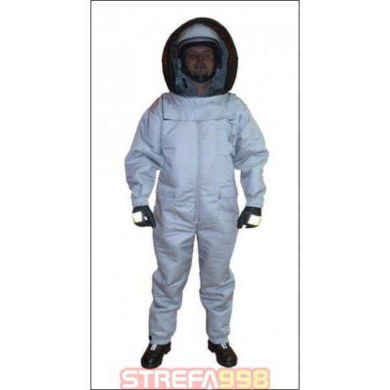 "Kombinezon ""HORNET-1"" chroniący przed ukąszeniami szerszeni, pszczół, os oraz worek na roje"