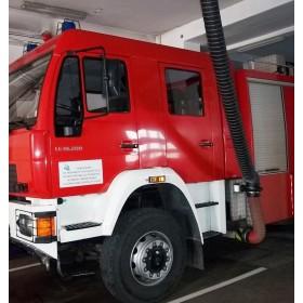 Szynowy wyciąg spalin FLORIAN EMS -  Odciągi spalin