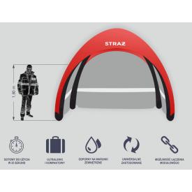 Mobilny namiot pneumatyczny RAPID S1 Pneumatik -  Ratownictwo medyczne