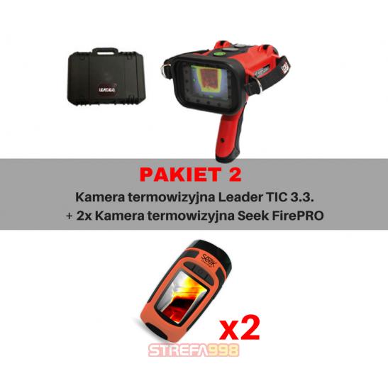 Pakiet II - LEADER TIC 3.3 + SEEK FirePRO x2