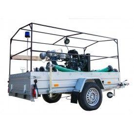 Motopompa szlamowa SWT-100 2000l/min