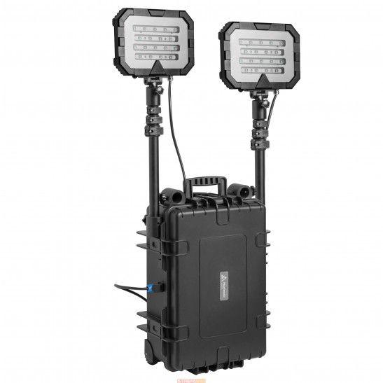Przenośny system oświetleniowy Mactronic Floodlight Twin 36000 lm /50Ah