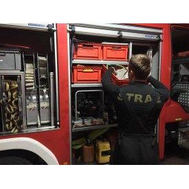 KOSZULKA KRÓTKI RĘKAW TERMOAKTYWNA DLA STRAŻY BRUBECK - Bielizna termoaktywna dla Strażaków