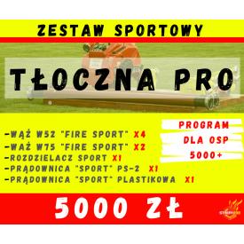 """Zestaw SPORT """"TŁOCZNA PRO"""" - Program 5000+ czyli 5000zł dla OSP"""