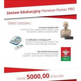 Zestaw edukacyjny PIERWSZA POMOC PRO - Program 5000+ czyli 5000zł dla OSP