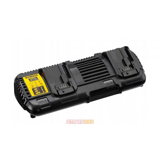 DeWALT Ładowarka podwójna 18-54V DCB132 Flexvolt -  Narzędzia akumulatorowe