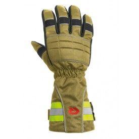 Rękawice Rosenbauer SAFE GRIP III-mankiet, złoty - Rękawice strażackie