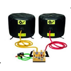 Zestaw poduszek niskociśnieniowych 1 bar 1/9 -  Poduszki niskociśnieniowe