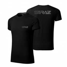 KOSZULKA TECHNICZNA STRAŻACKA T-Shirt SREBRNY NADRUK - Bielizna termoaktywna dla Strażaków
