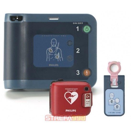 Defibrylator AED PHILIPS FRx + klucz pediatryczny -  Defibrylatory AED